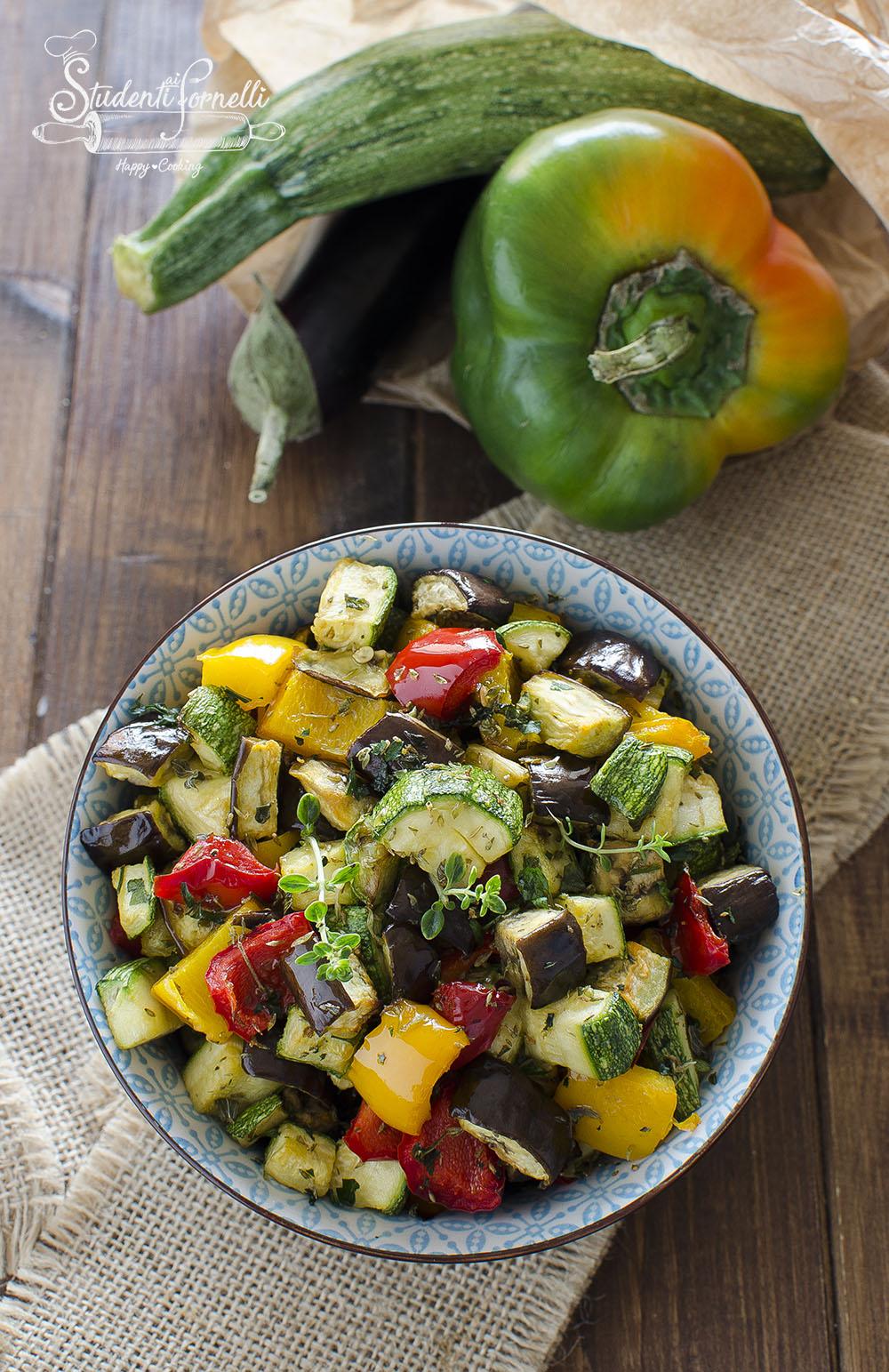 verdure light in friggitrice ad aria ricetta contorno light