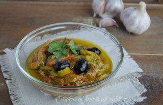 peperoni in padella con olive ricetta antipasto o contorno
