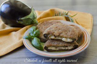 ricetta cotolette melanzane e scamorza cordon bleu di melanzane e provola ricetta secondo estivo facile veloce vegetariano