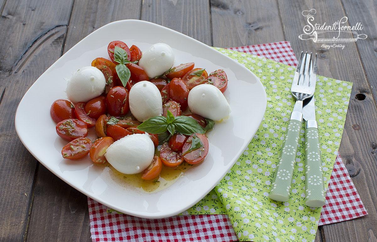 ricetta insalata caprese pomodoro e mozzarella bufala ricetta estiva