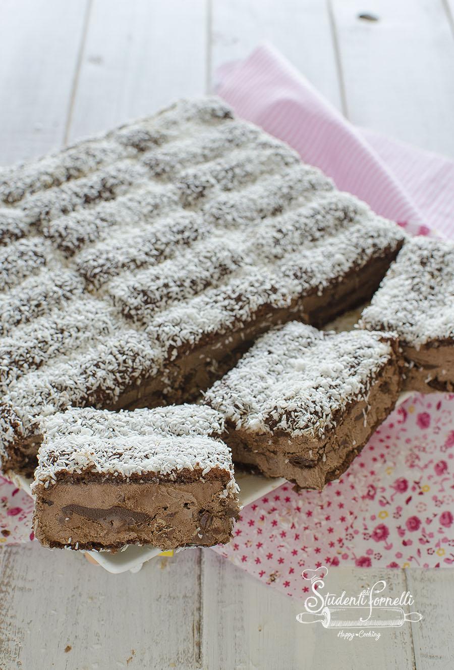 ricetta torta gelato al cioccolato pavesini nutella e cioccolato ricetta dolce senza cottura gelato