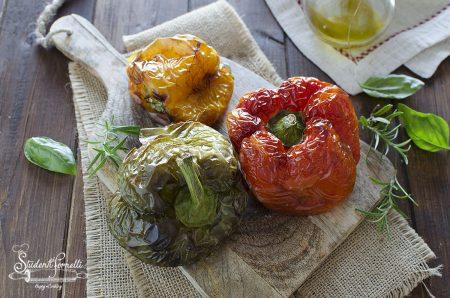 peperoni arrostiti in friggitrice ad aria veloci ricetta contorno