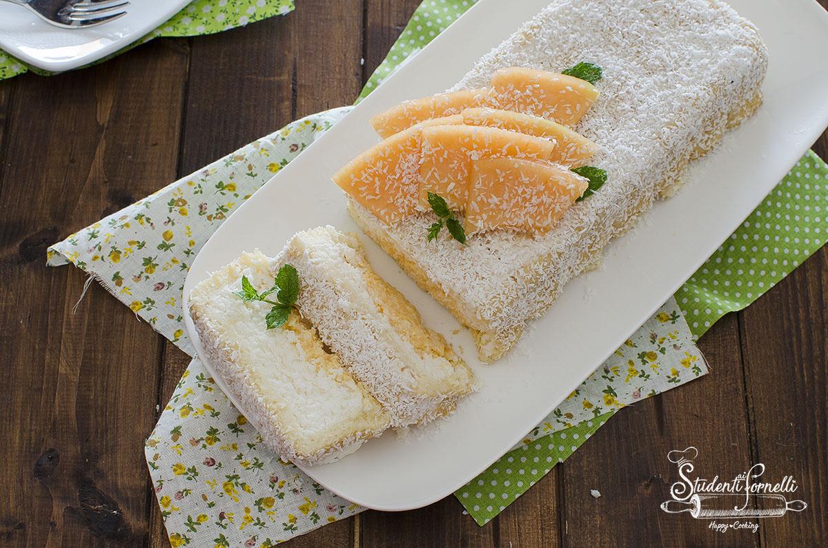 ricetta semifreddo cocco e melone ricetta secondo cottura dolce torta estiva