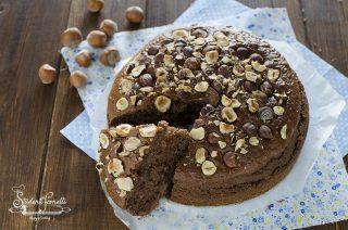 ricetta torta al cioccolato in friggitrice ad aria e nocciole cotta in friggitrice ad aria ricetta dolce