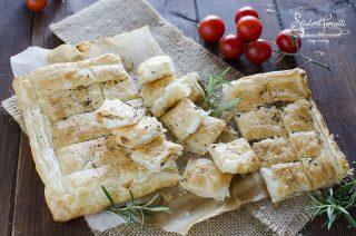 rustichella allo stracchino formaggio 2 ingredienti ricetta cotta in friggitrice ad aria stuzzichini