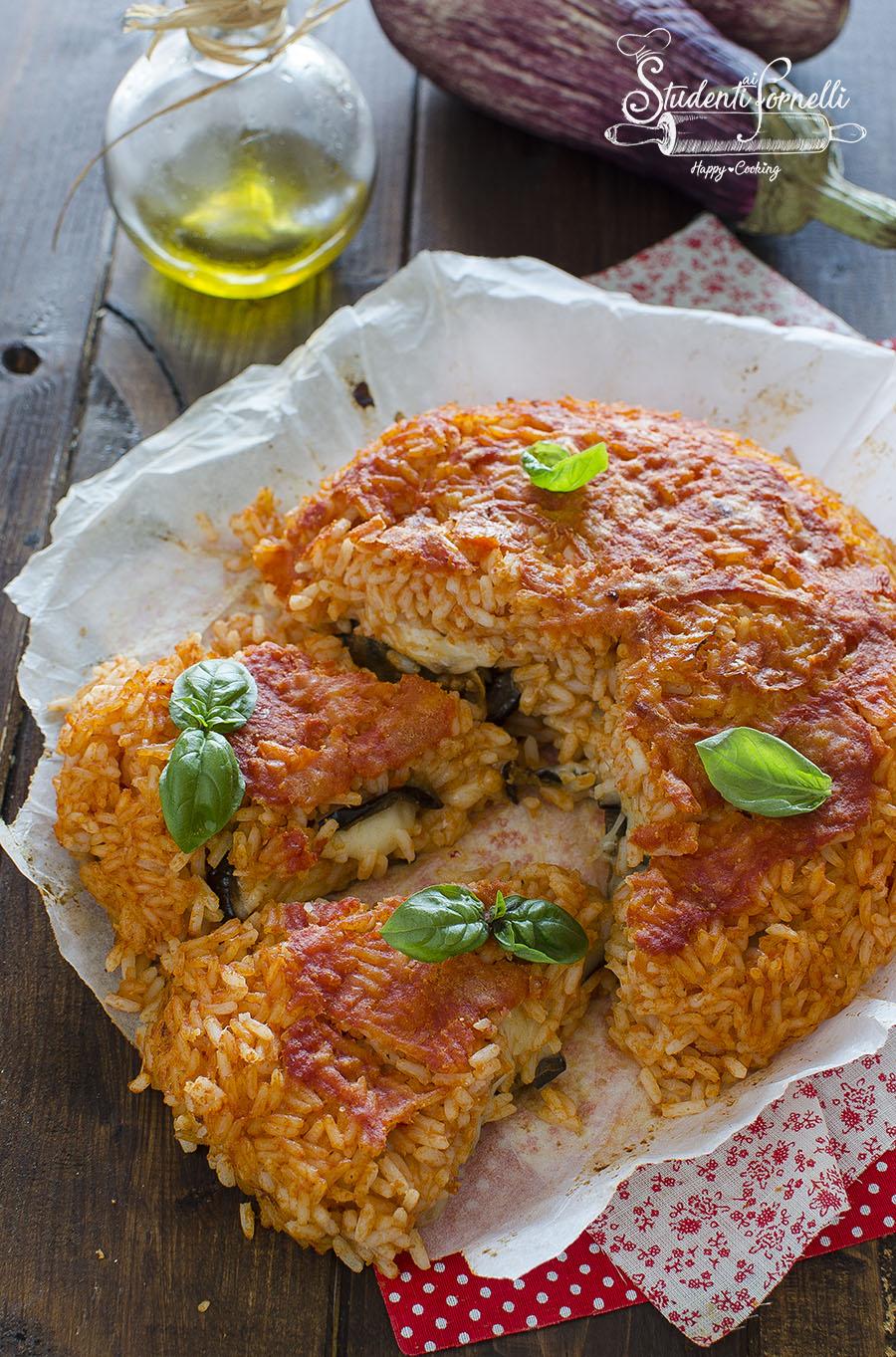 ricetta torta di riso alla parmigiana in friggitrice ad aria o forno ricetta primo