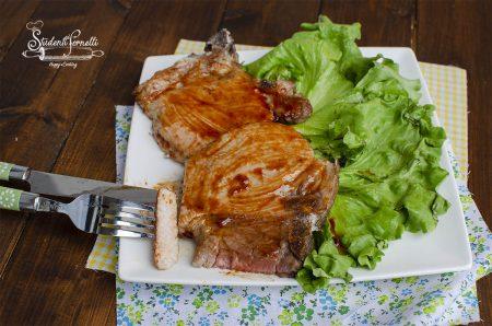 costolette alla salsa barbecue in friggitrice ad aria ricetta