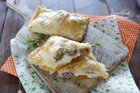 fagottini zucca e salsiccia ricetta in friggitrice ad aria
