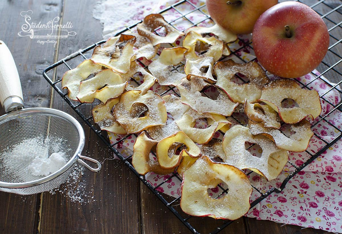 ricetta chips di mela in friggitrce ad aria ricetta
