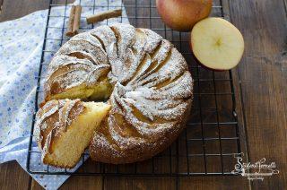 torta di mele e yogurt greco cotta in friggitrice ad aria o forno ricetta dolce senza burro