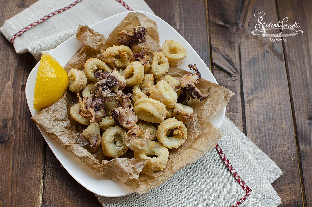calamari in friggitrice ad aria come fritti sani light senza frittura ricetta pesce