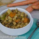 pasta e lenticchie con carote e patate