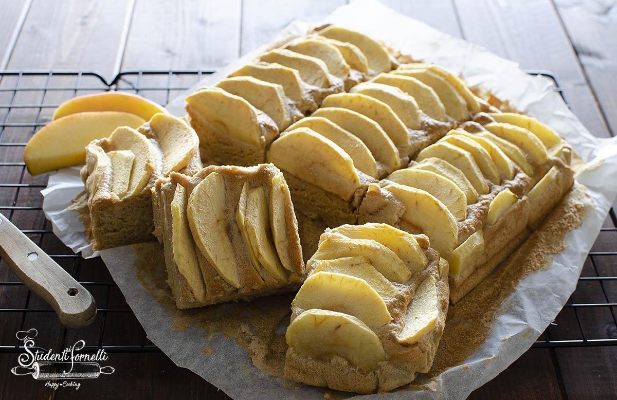 torta di mele e albumi ricetta torta fit senza burro e olio light soffice