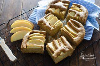 torta fit alle mele ricetta torta mele e albumi light senza burro