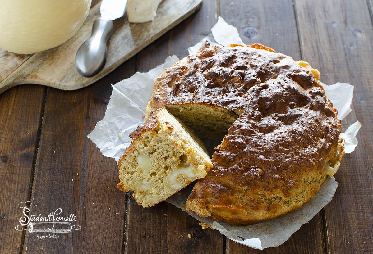 torta salata ai formaggi ricetta cake senza lievitazione in friggitrice ad aria