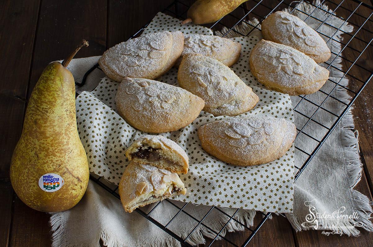biscotti frolle pere e cioccolato ricetta facile