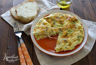 frittata di albumi al formaggio ricetta secondo fit frittata con soli albumi per dieta leggera light (1)