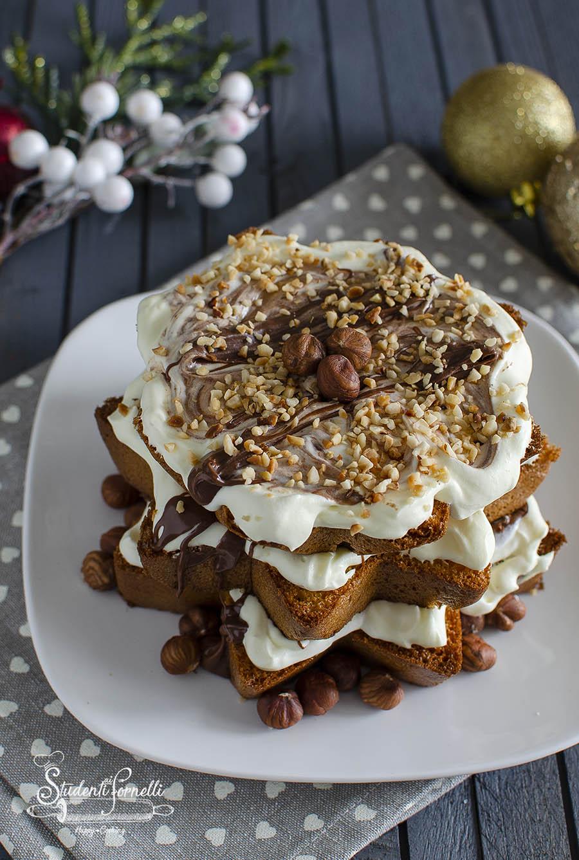 ricetta pandoro con crema chantilly diplomatica e nutella ricetta pandoro al forno dolce natale