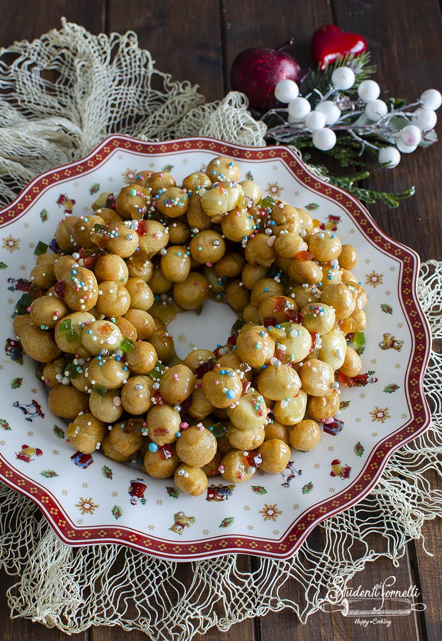 ricetta struffoli in friggitrice ad aria ricetta come cuocere e friggere in airfryer struffoli napoletani