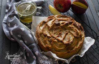 ricetta torta di mele rustica invisibili ricetta dolce in friggitrice ad aria
