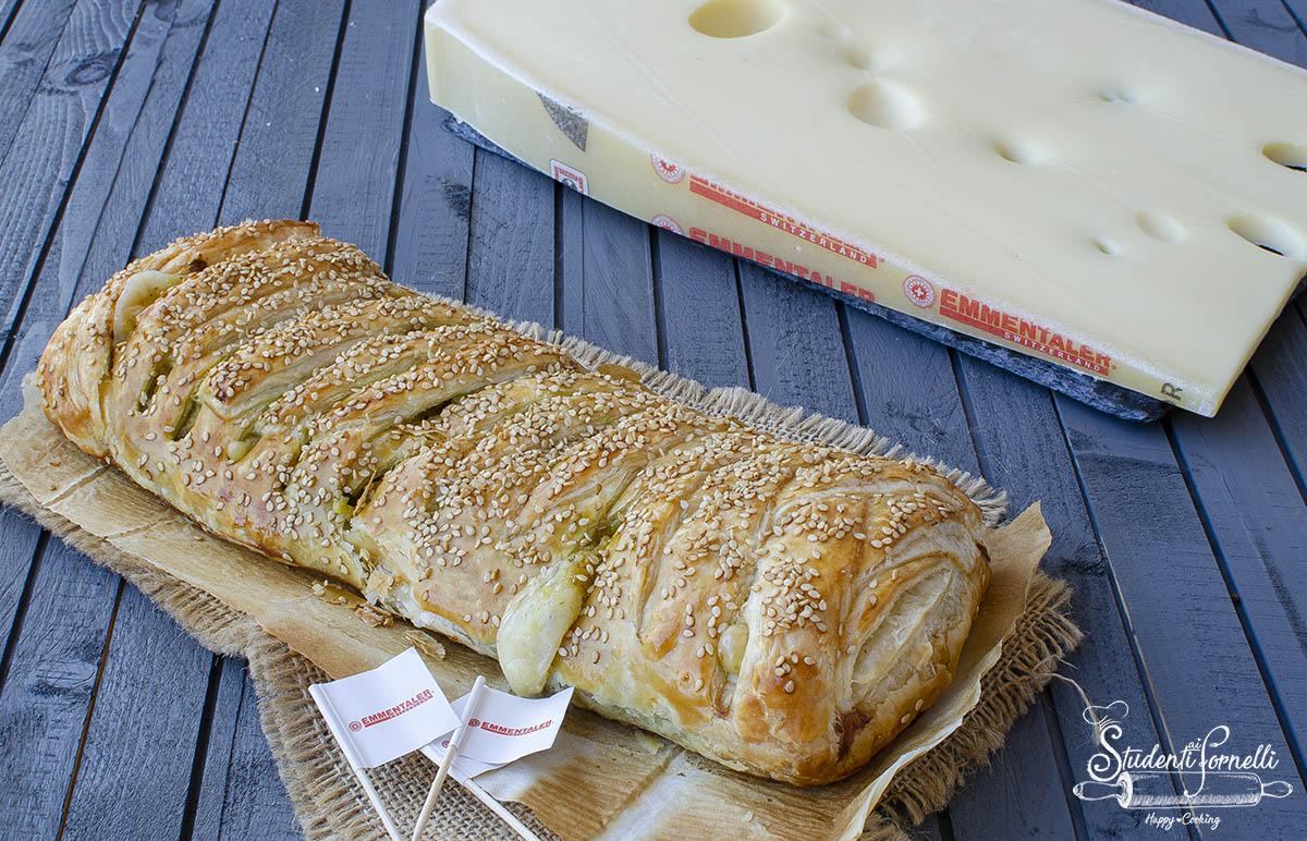 rustico con patate pesto ed emmentaler ricetta pasta sfoglia