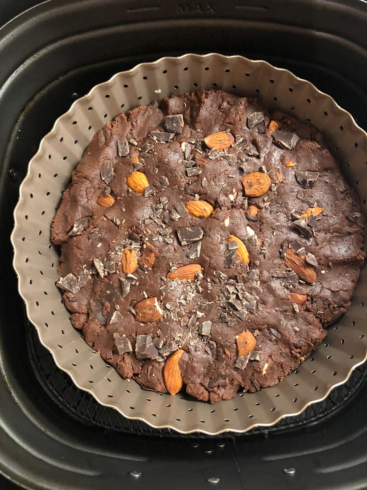 torta biscotto morbida al cioccolato cookies biscottone