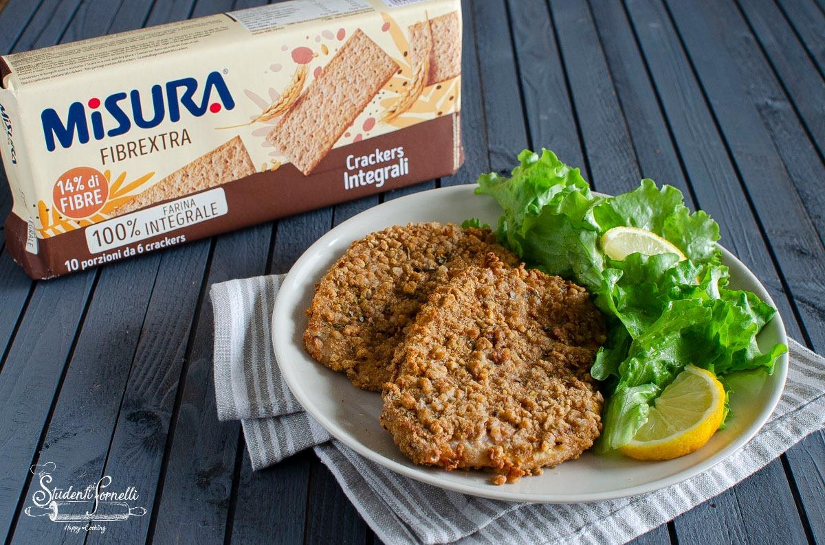 cotolette ai crackers con panatura croccante 1