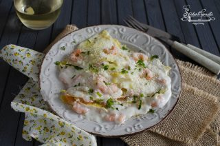 crepes ai gamberetti ricetta crespelle di pesce primo piatto