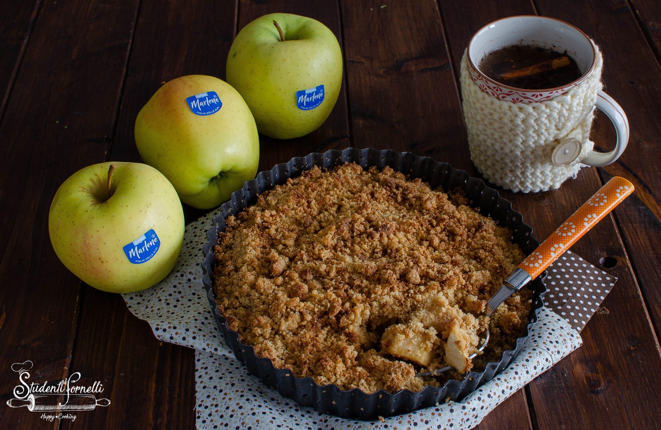 crumble di mele ricetta dolce facile e veloce (3)