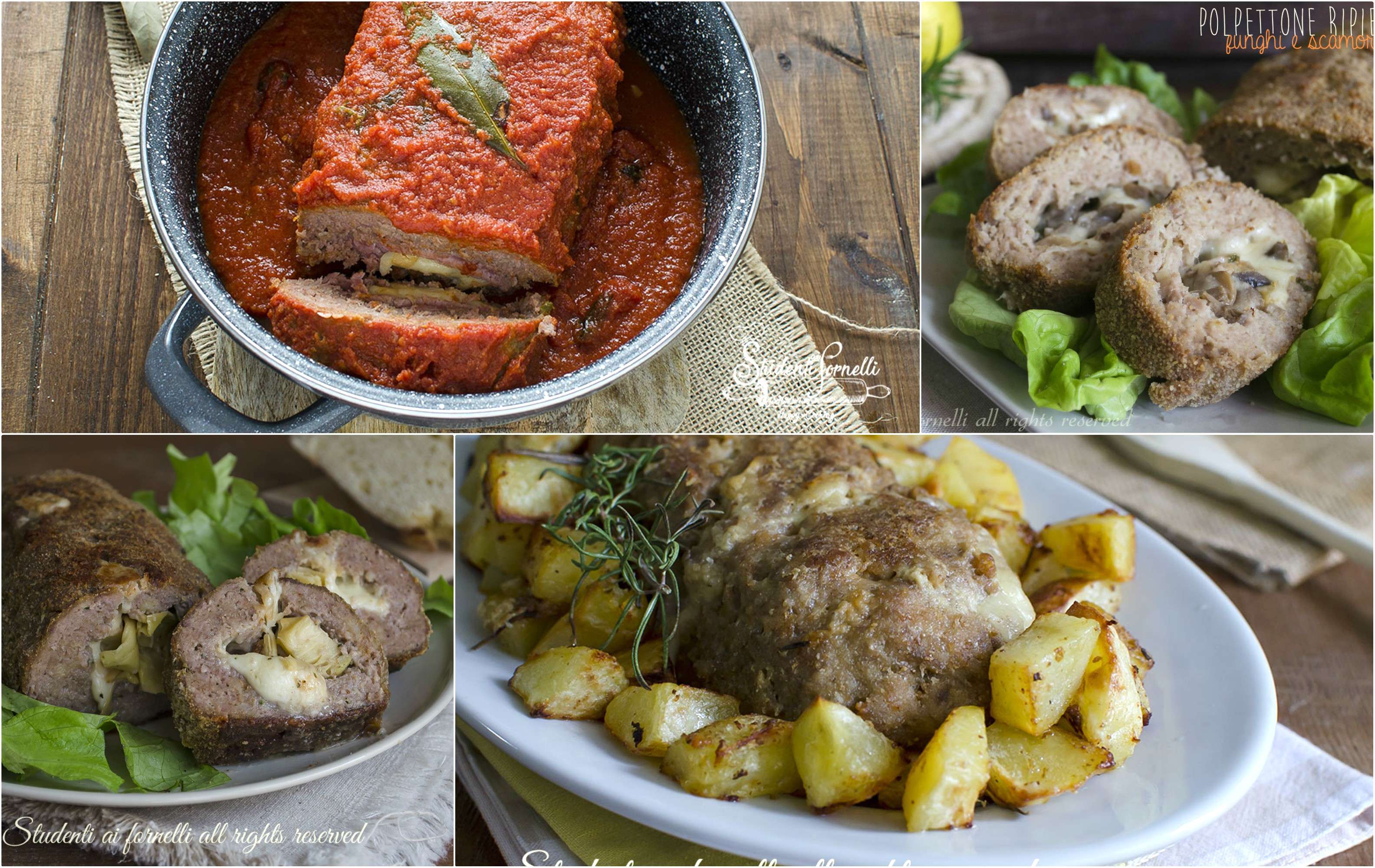 ricette di polpettoni di carne al forno o in padella polpettone morbido impasto ricetta secondo