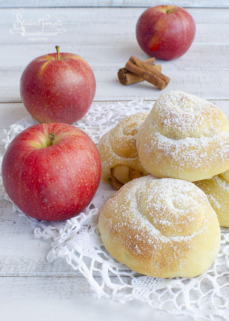brioche alle mele e cannella ricetta dolce