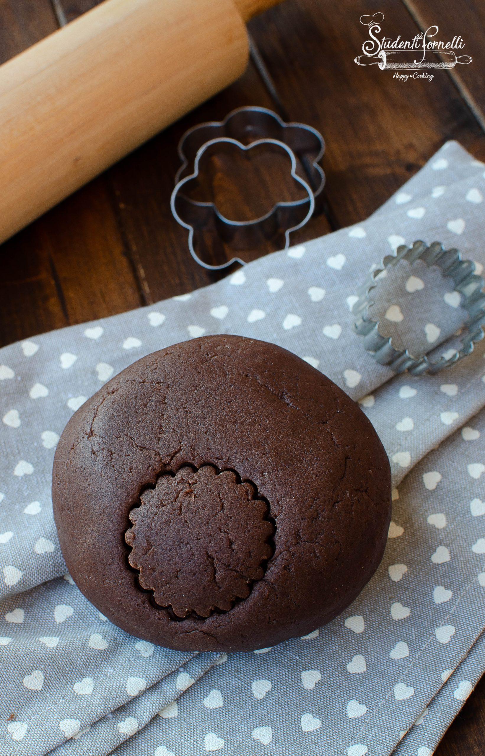 pasta frolla al cacao senza glutine per crostate sbriciolate e biscotti ricetta (1)