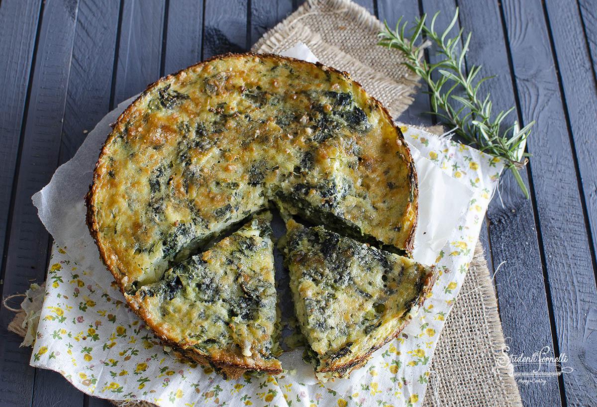 ricetta tortino di patate e spinaci filante ricetta