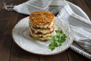 rosti di patate e pancetta in padella ricetta