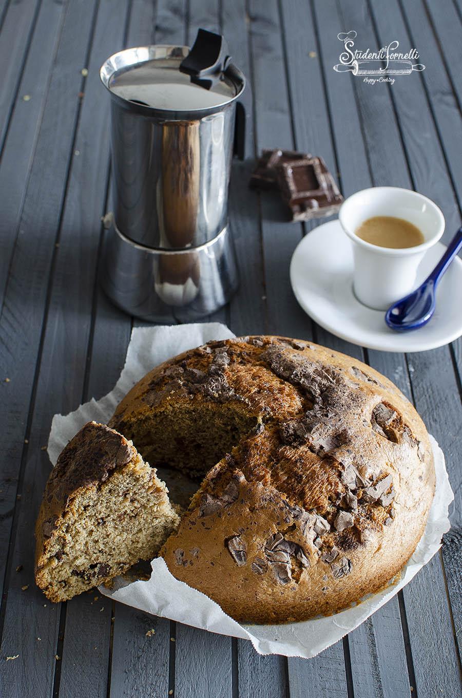 torta al cappuccino e cioccolato in friggitrice ad aria ricetta dolce