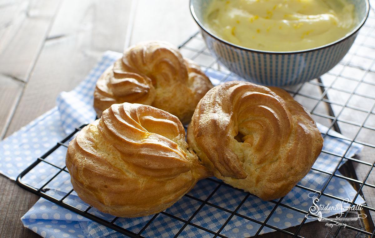 ricetta come fare la pasta choux per bignè zeppole paris brest eclair foto passo passo ricetta