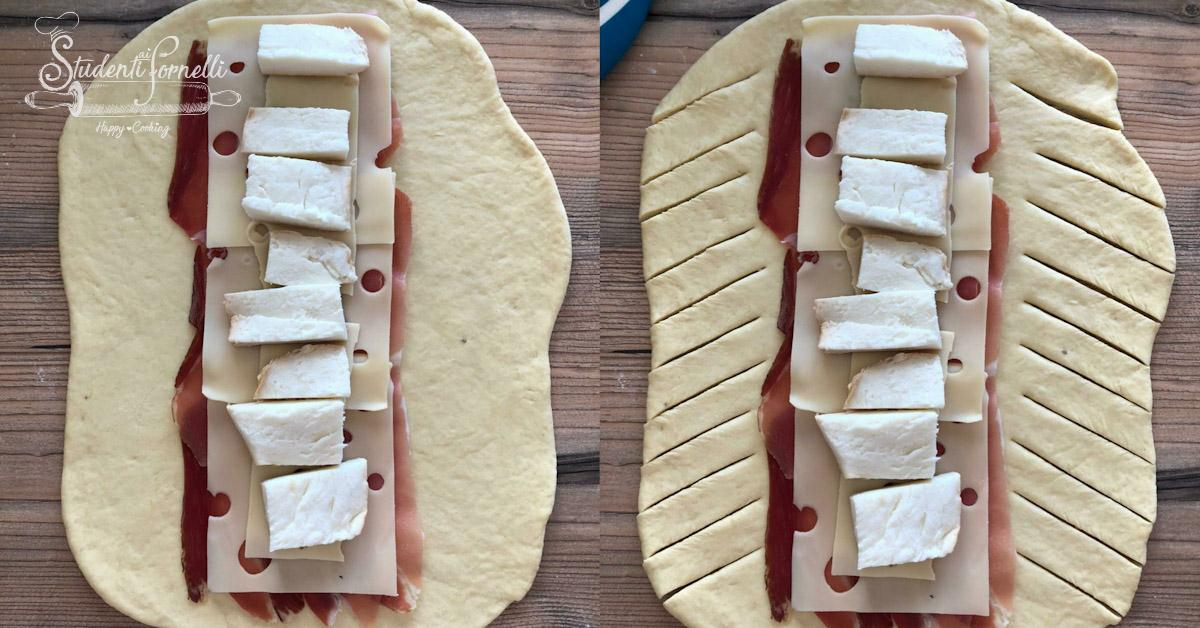 panfocaccia focaccia ripiena di speck e provola ricetta brioche salata