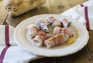 involtini con pancetta e scamorza ricetta involtini di carne in padella