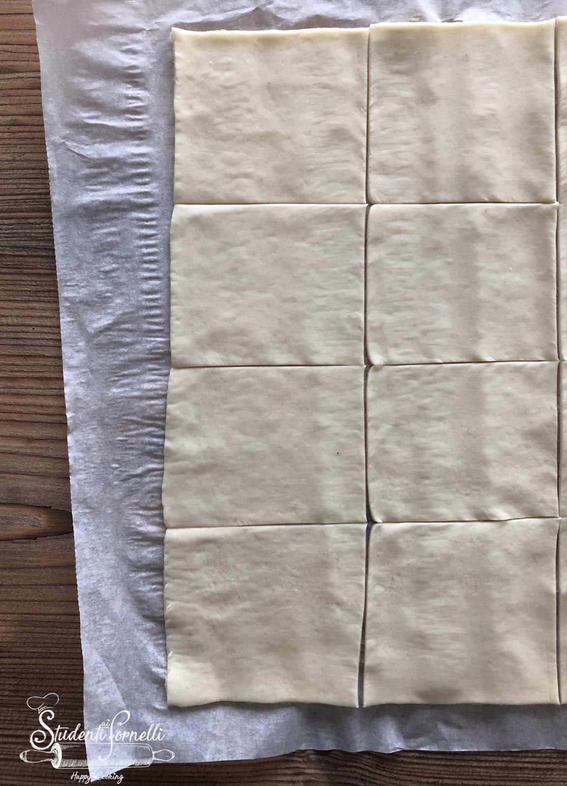 sporcamuss alla crema ricetta dolcetti di sfoglia pugliesi