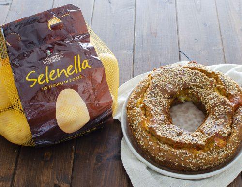 CIAMBELLA DI PATATE speck e formaggio