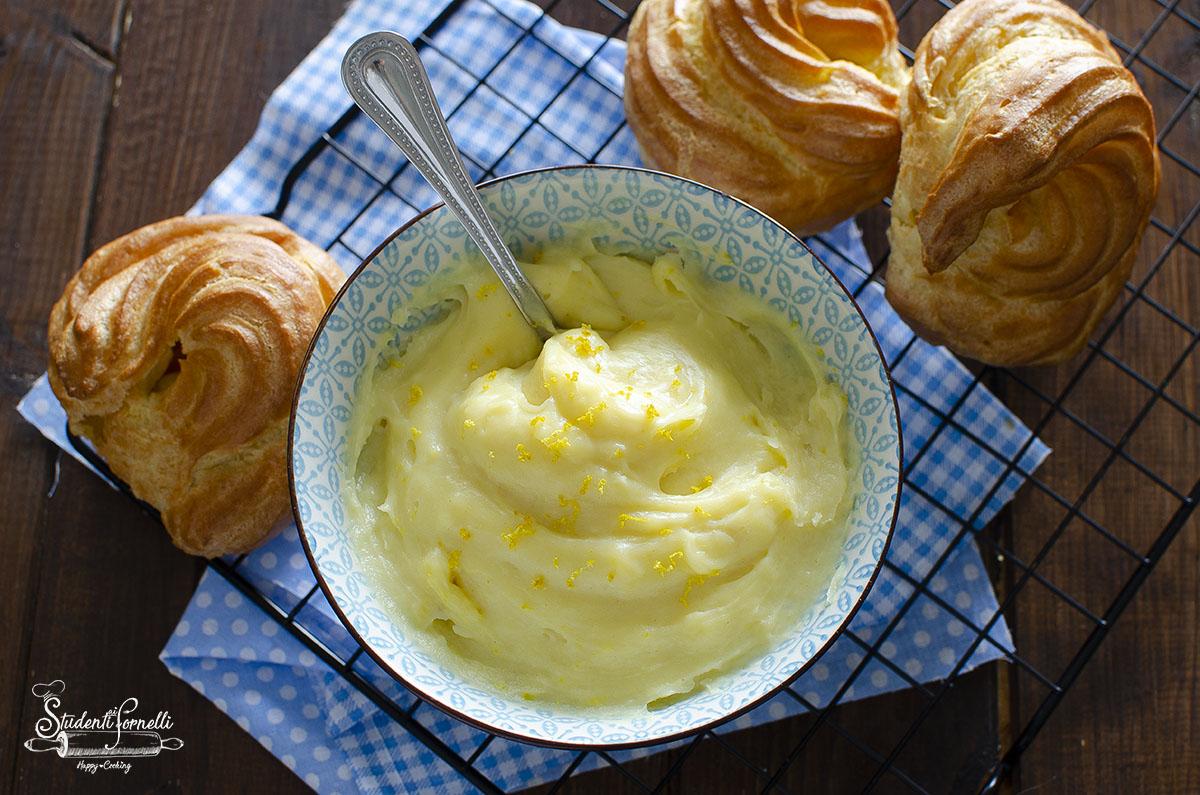 ricetta crema pasticcera per zeppole di san giuseppe ricetta crema facile