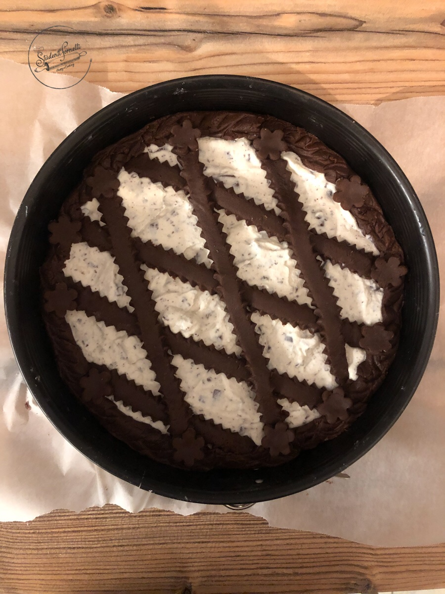 crostata al cioccolato e mascarpone ricetta dolce