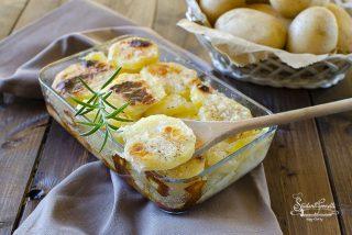 patate alla savoiarda al forno o friggitrice ad aria ricetta