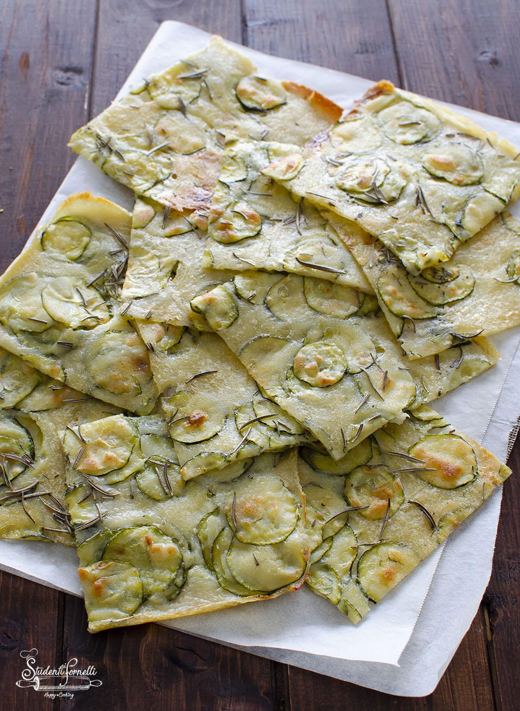 ricetta schiacciata alle zucchine senza lievito ricetta veloce copia
