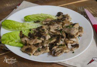 straccetti di carne ai funghi ricetta straccetti ai funghi scaloppine secondo