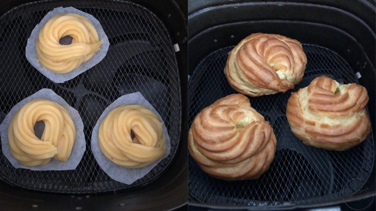 zeppole in friggitrice ad aria senza olio ricetta zeppole di san giuseppe