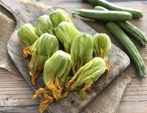 COME PULIRE I FIORI DI ZUCCA (o Zucchina)