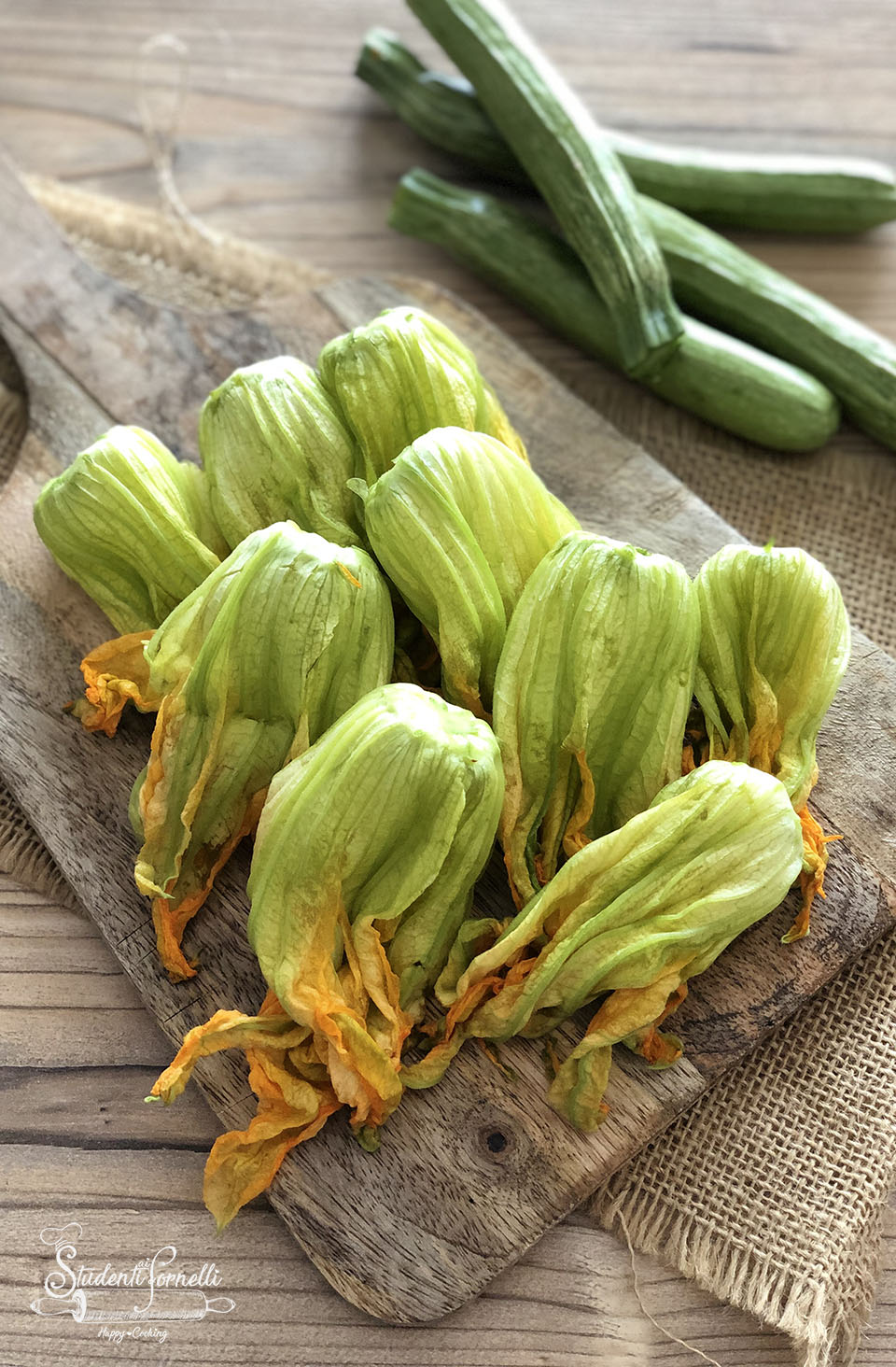 Come Pulire Un Frigorifero Usato come pulire i fiori di zucca (o zucchina)