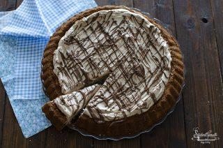 crostata morbida alla nutella e panna ricetta dolce