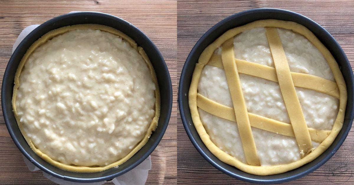 ricetta 4 pastiera di riso di pasqua ricetta dolce